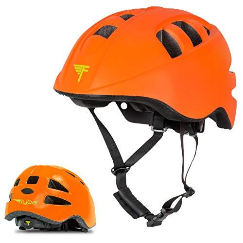 Flybar Cascos Junior (Naranja, pequeño)