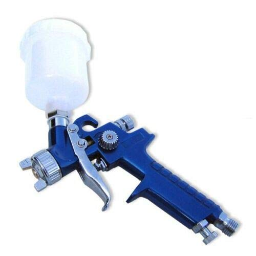 (Best tools) Mini HVLP Air Paint Spray Gun Auto Car Detail Touch Up Sprayer Gravity New tools