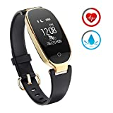 ZKCREATION Fitness Tracker for Women Activity Watch and Heart Rate...
