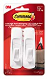Command White Large Utility Hooks, Ships In Own Container (GP003-7NA)