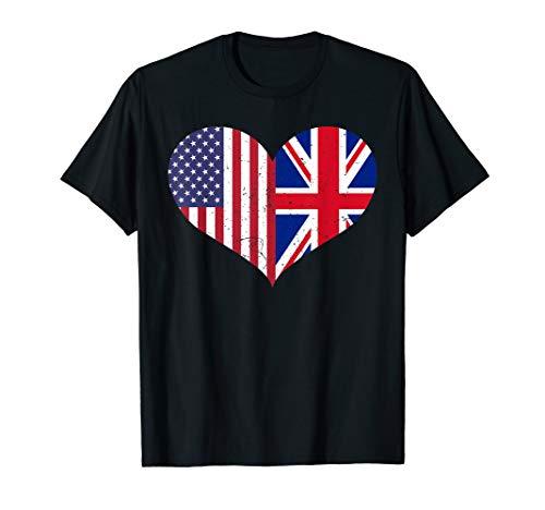HERZFAHNE ENGLAND T-Shirt