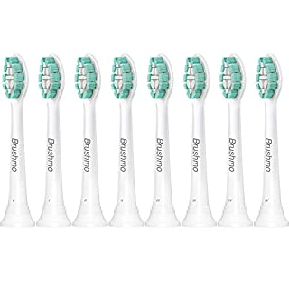 Sonimart Brushmo Replacement Toothbrush Heads Compatible with Phillips Sonicare Electric Toothbrush, 8 Pack (B00NN07IMW) | Amazon price tracker / tracking, Amazon price history charts, Amazon price watches, Amazon price drop alerts