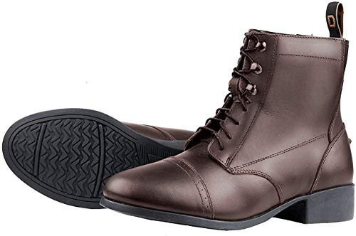 Dublin Foundation Laced Paddock Boots Brown 7