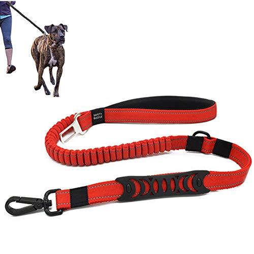 Hond Leads Dog Seat Belt Voor Auto Hond Harnas In Auto Hond Hoofdsteunen Voor Auto Anti Pull Hond Lood Hond Leidt Sterke Dog Seat Riem Bevestiging red