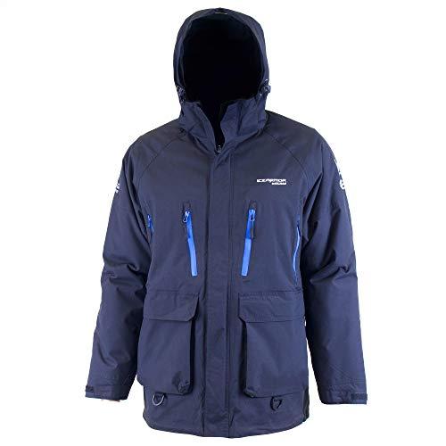 Clam Corporation - Angel-Jacken für Damen in schwarz / blau, Größe M