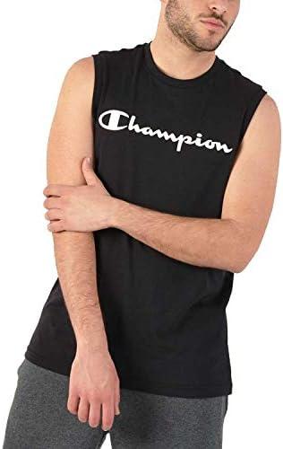 Champion Camiseta Tirantes American Classics Negro (Tank Top)