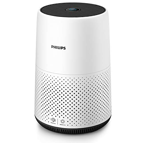 Philips Series 800 Compact Air Purifier for Small Rooms, Removes 99.5% of Ultrafine Particles, Real...