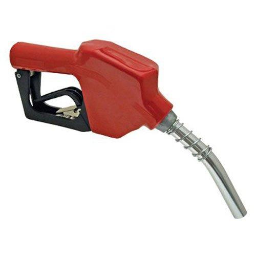 Red Auto Shut-Faucet Freezing Farm Fuel Nozzle