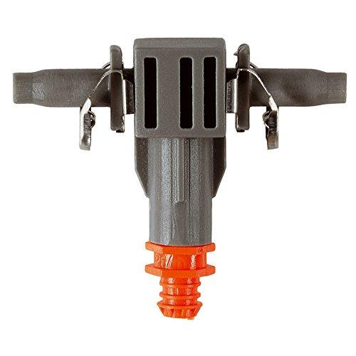 Gotero lineal 2 l/h Quick & Easy Blister de 10 goteros y 1 aguja de limpieza. Con el sistema de conexión