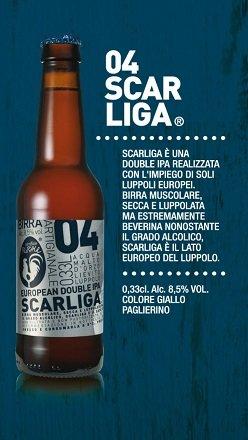 BIRRIFICIO RURALE - SCARLIGA Cerveza artesanal italiana (33 cl)