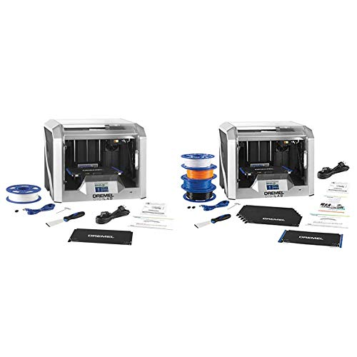 Dremel - 3D40-FLX-01 DigiLab 3D40 Flex 3D Printer with Filament, Fully Enclosed...