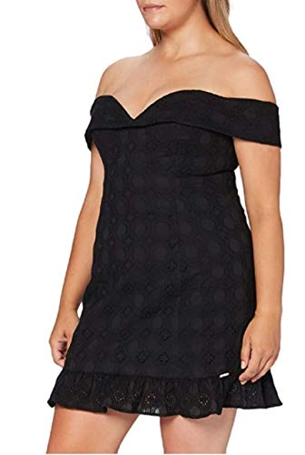 Guess KRIN Dress Vestido, Negro, S para Mujer