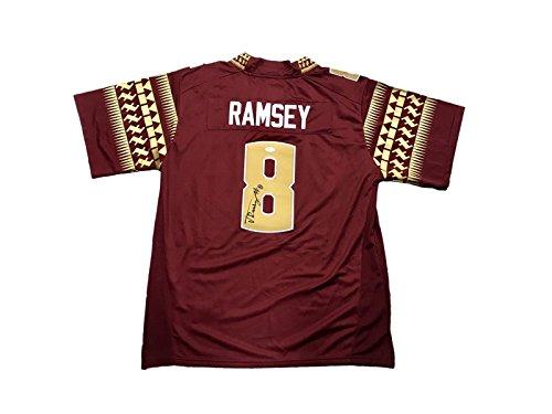 Jalen Ramsey Florida State Seminoles FSU Signed Jersey JSA - Autographed College Jerseys