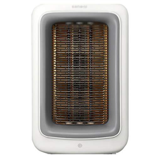 Heizung Kleines Haus Geschwindigkeitsheizung Elektrische Heizung im Badezimmer Energieeinsparung durch Fernbedienung Leise Luft reinigen Wohnzimmer Büro 25㎡ ( Color : Weiß , Size : 220V )