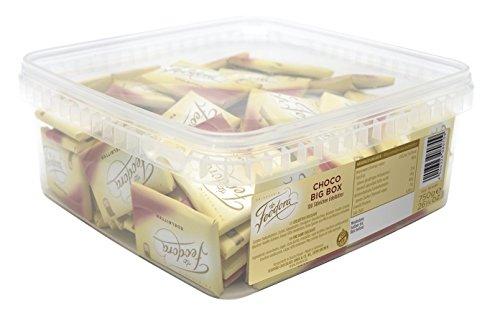 Feodora Choco Big Box Edel-Bitter-Täfelchen, 1er Pack (1 x 750 g)