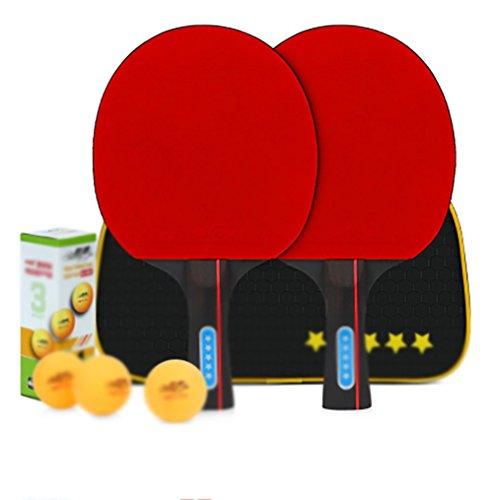 xianw Geschwindigkeit-n1-ping-pong paddel - ultimative professionelle pingpong paddel mit carbonschichten verglichen mit speziell entwickelten Memory Book-E