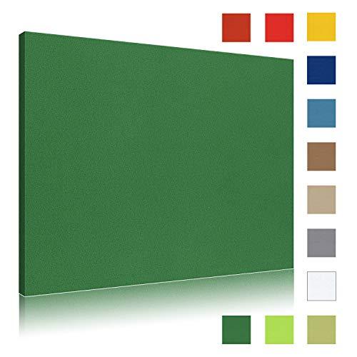 Akustikbild AbsorPic Stoff Farbe Grün   Premium Schall Absorber verbessert die Raumakustik   Viele Größen und Farben   50 x 50 x 3cm   Made in GERMANY, Köln