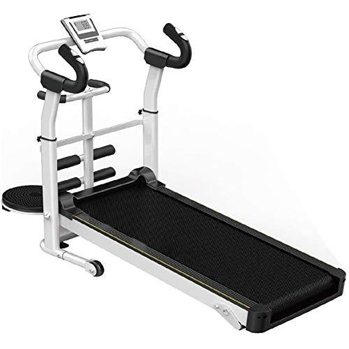 XWDQ Fitness Club Cinta de Correr Plegable de Alta Velocidad Fitness, Máquina para Correr, Silencioso No eléctrico