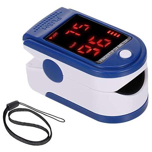 Kylewo Pulsoximeter Fingerpulsoximeter zur Messung der Blutsauerstoffsättigung SpO2 und die Pulsfrequenz,große LED-Anzeige, für Haushalt, Fitness und Extremsport