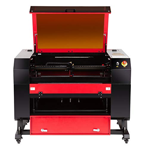 Orion Motor Tech 60W CO2 Laser Cutter Engraver, 20x28 inch Work Area Laser Engraving and Cutting Machine with Auto-Focus, Debris Collection, Redegigned Ruida Control Panel for Home DIY Business