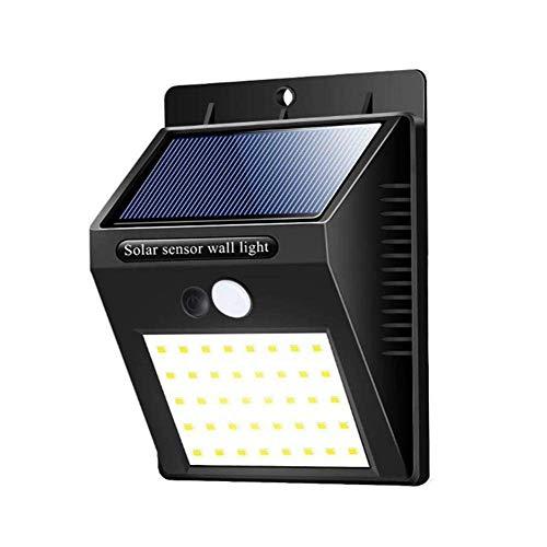 LONGWDS Lámpara de Pared La iluminación Exterior 40 LED de energía Solar de Seguridad del Sensor de Movimiento PIR jardín de la luz de la lámpara al Aire Libre Impermeable de Pared