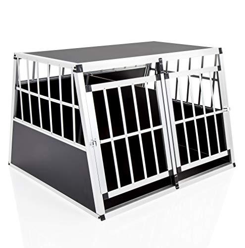 COZY PET Aluminium Car Dog Cage 10 sizes Travel Puppy Crate Pet Carrier...