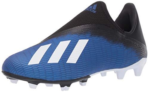 adidas Men's X 19.3 Firm Ground Boots Soccer Shoe, Team Royal Blue/FTWR White/core Black, 9.5
