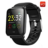 CanMixs Smart Watch CM07 Impermeabile IP67 Activity Tracker Fitness con cardiofrequenzimetro...