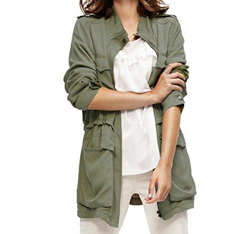 SOYACONCEPT - Damen leichte Outdoor Jacke SC-Silver 4 - Größe S