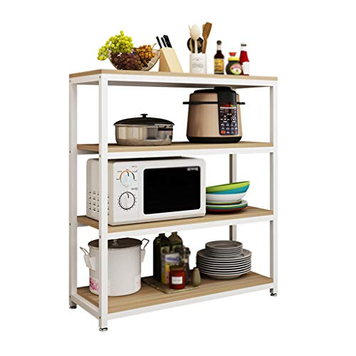 OCYE Simple Commercial Industrial Racking Garage Shelving Unit Adjustable Display Stand,shelf organizer with horizontal feet, 3 layers / 4 layers