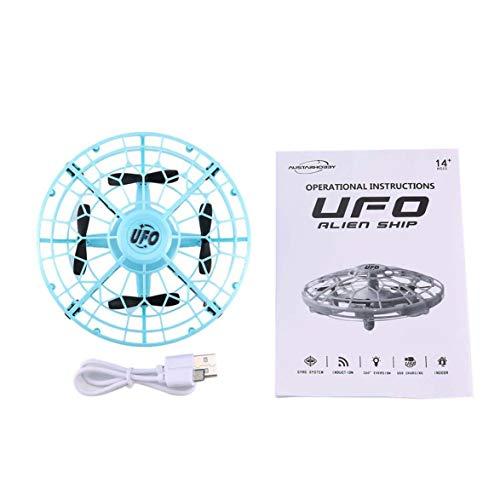 Heaviesk AX-8601 Mini RC Drone con sensori 2.4G 4CH Quadcopter Gyro Fly Ball Smart Shatterproof Pocket UFO Giocattoli sicuri per Bambini