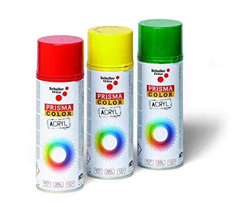 Schuller Eh'klar P91031 Prisma-Color Vernice Spray, RAL 4004 Viola Bordeaux, 400 ml