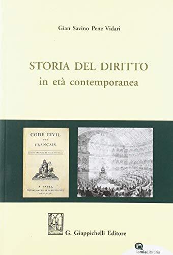 Storia del diritto in età contemporanea