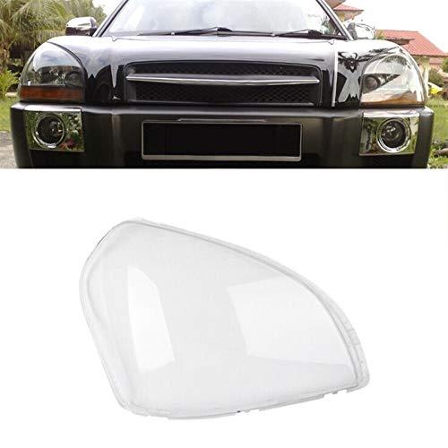 GIAOGIAO Auto Objektiv Shell Auto Klar Scheinwerfer Shade Auto-Frontscheinwerfer Klar Objektivabdeckung Lampshade Shell Cover Fit for Hyundai Tucson 2005-2009 Auto Objektivabdeckung (Color : As pic)