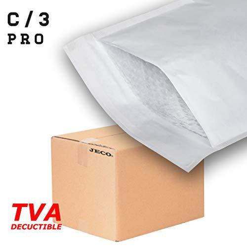 100x Premium bulles d/'air sacs blanc taille c3 150x220mm Extérieur 170x230