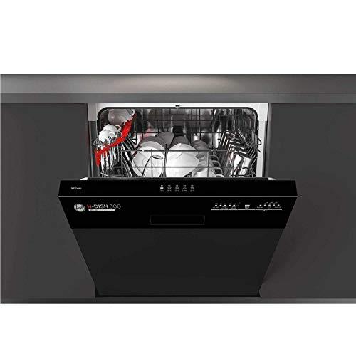 Hoover Semi Integrated Dishwasher - Black