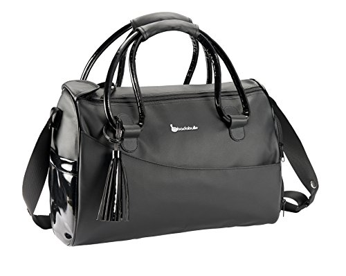 Badabulle Glossy Wickeltasche, schwarz