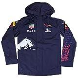 Red Bull Racing Official Teamline Rain Jacket, Hombres Medium - Original Merchandise