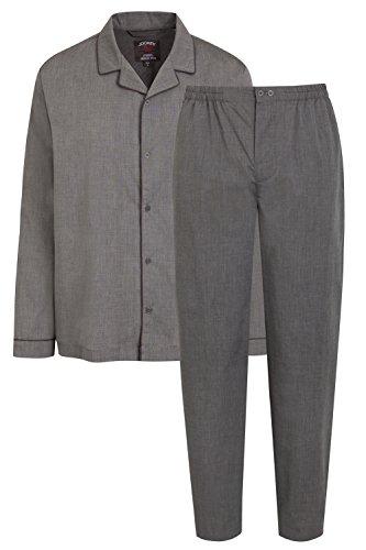 Jockey Cotton Chambray Pyjama geknöpft Herren