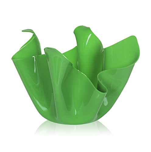 Iplex Design Décoration d'auteur Pot Multi-Usage, Acrylique, Vert, 45 x 45 x 29 cm