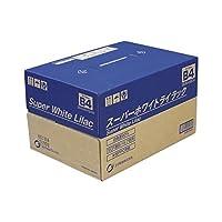 (業務用セット) 王子製紙 スーパーホワイトライラック SWLB4 500枚×5冊入 【×2セット】 ds-1537206