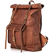 Rucksack Berliner Bags Leeds XL aus Leder Kurierrucksack Fahrradrucksack Schulrucksack Wasserdicht Damen Herren Vintage