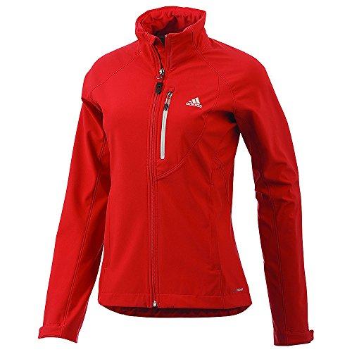 adidas Hiking/Trekking Softshell Jacke Z22699 Rot Damen