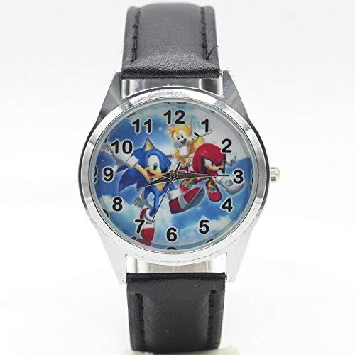 Sonic Uhr Sonic Uhren Kinder Kinder Jungen Geschenk Uhr Lässige Quarz Armbanduhr Relogio Relojes