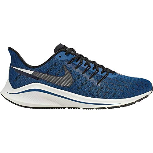 Nike Air Zoom Vomero 14, Scarpe da Trail Running Uomo, Multicolore Coastal Blue Mtlc Dark Grey Black...