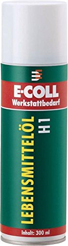 Lebensmittelöl H1 Spray 300ml E-COLL EE   4317784564359