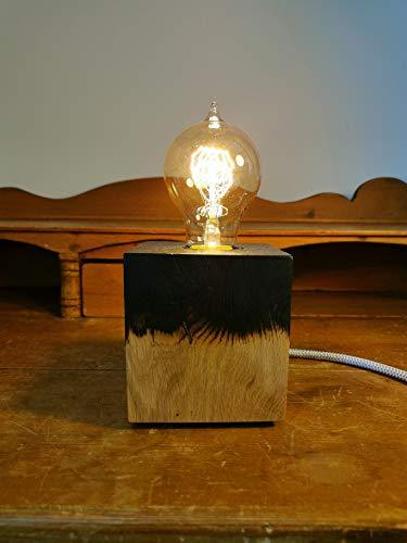 Lampe BURNT KUBUS