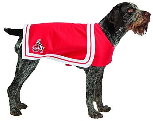 Rubies 1.FC Köln - Fan Zubehör - Cheerleader Flaggenkleid Hundecape (Hundecape, L)