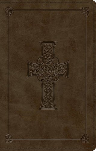 ESV Large Print Value Thinline Bible (TruTone, Olive, Celtic Cross Design) by ESV Bibles by Crossway (2016-02-29)