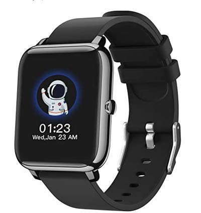 """Smart Watch, 1.4"""" Touch Screen Smartwatch,Fitness Tracker with Heart Rate Monitor, Sleep Monitor, Bluetooth Camera Music Control Smart Watch for Men Women"""